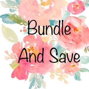 Bundle items for a discount.